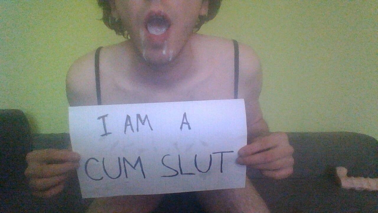 sissy cum slut exposed