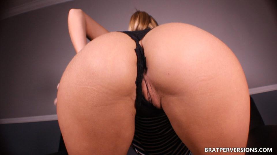 black panties