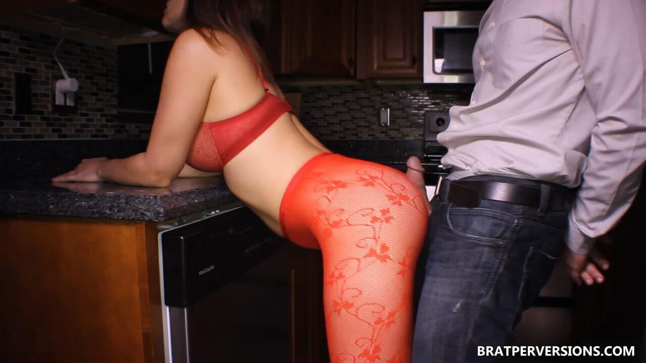 assjob in tights