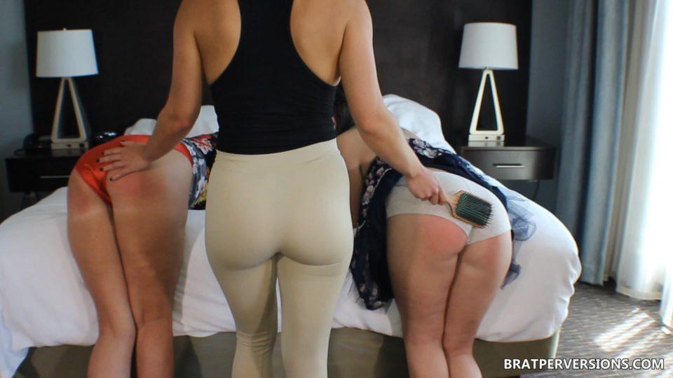 spanking big asses