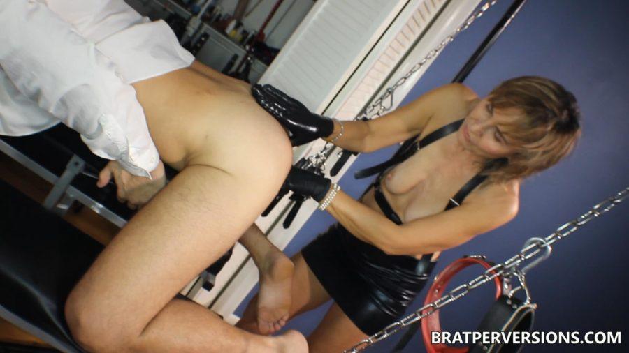 mature milf prostate milking