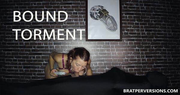 bound ruined orgasm