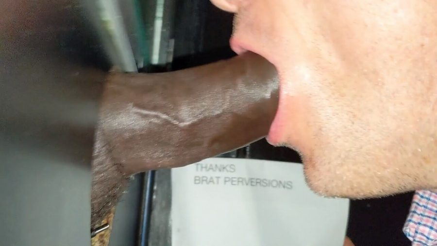 faggot at the gloryhole