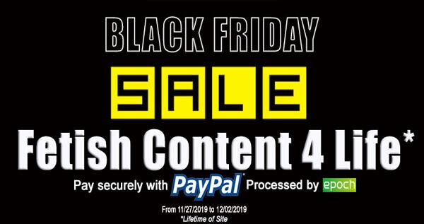 black friday fetish sale