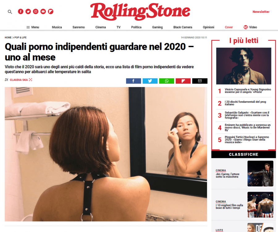 sissy documentary italy rolling stone